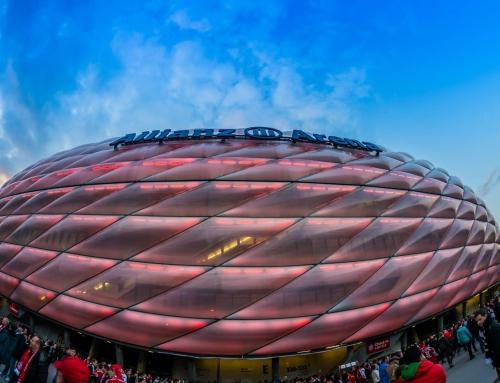 Spitzen-Fußball in der Allianz Arena