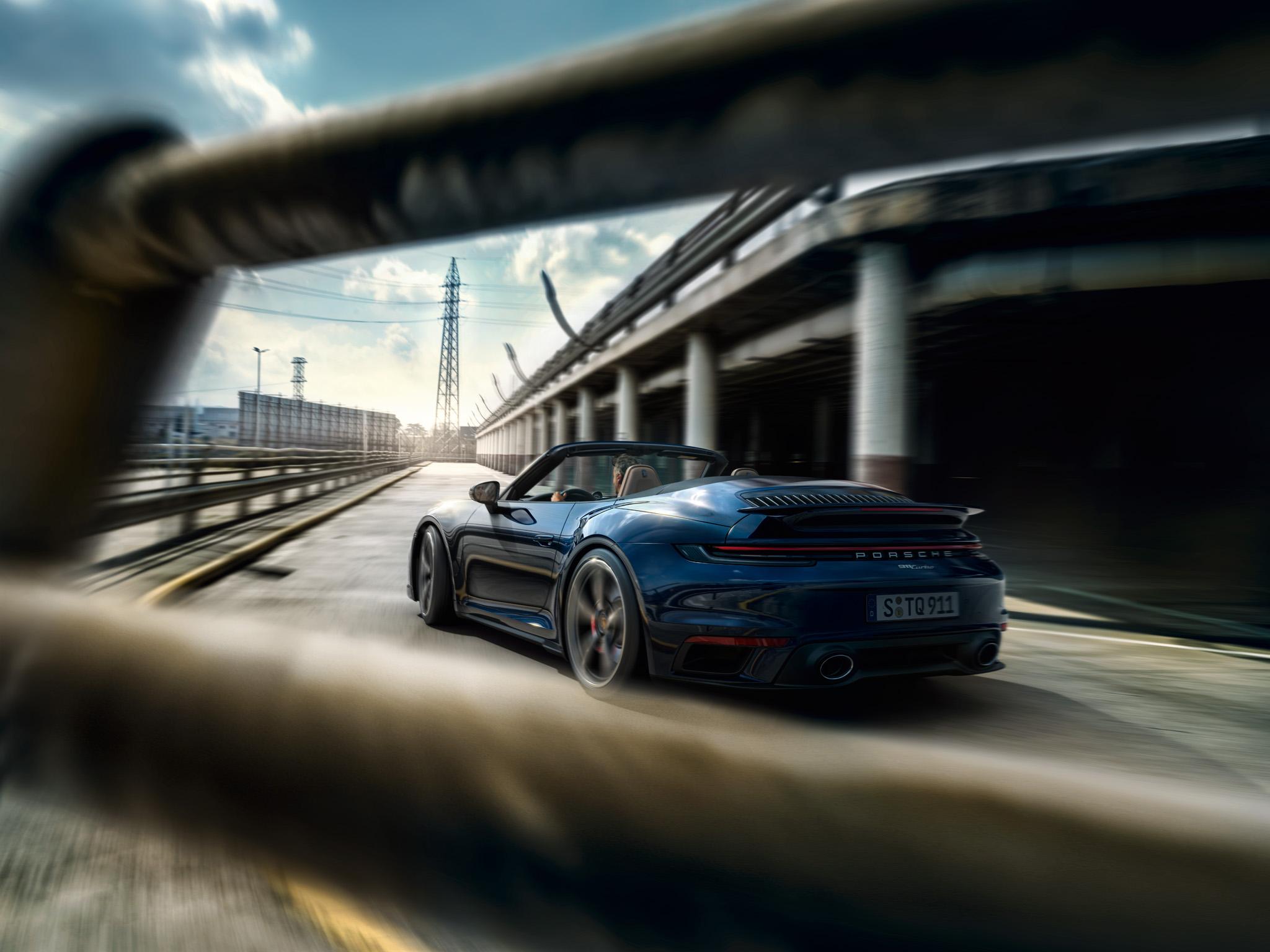 Porsche-Ausfahrt mit der Memberslounge